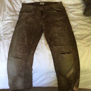 Brown Hudson slim jeans